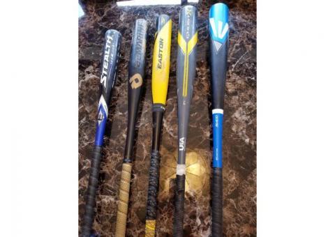 Baseball Bats for Sale - Easton Ghost, Demarini, Easton CXN
